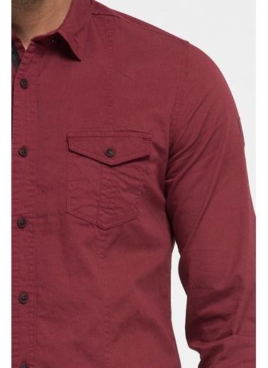 Loft Gömlek Kırmızı